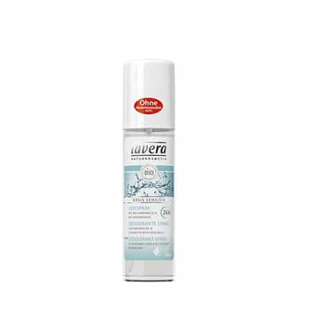 Lavera Desodorante spray 24h Basis sensitiv