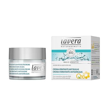 Lavera Crema hidratante antiarrugas Q10