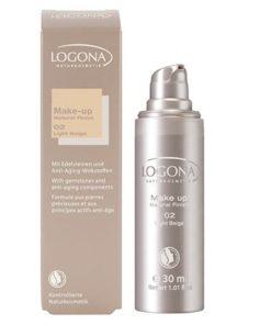 เมคอัพ Logona Natural Makeup Finish 02 Light Beige
