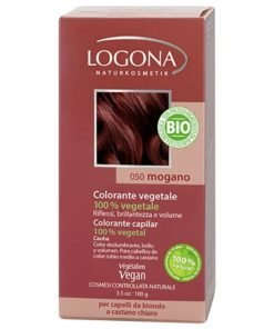 Logona Tinte Colorante Vegetal Color Caoba 050 100gr