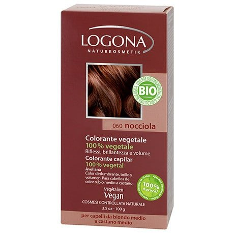 Logona Tinte Colorante Vegetal Color Avellana 060 100gr