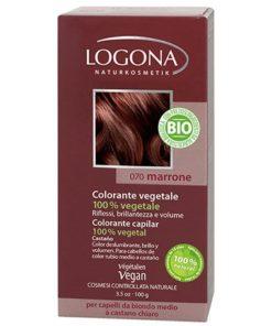 Logona Tinte Colorante Vegetal Color Castaño 070 100gr