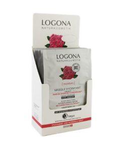 Logona Mascarilla Hidratante con Rosas Bio y Kalpariane ( 1 Sobre )
