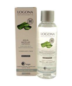 Logona Agua Micelar con Aloe Vera & Rosas Bio