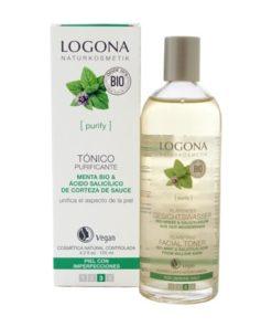 Logona Tonico Purificante con Menta Bio y Acido Salicilico 125ml