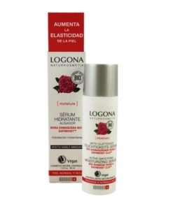Logona Serum Hidratante con Rosas Bio y Acido Hialuronico 30ml