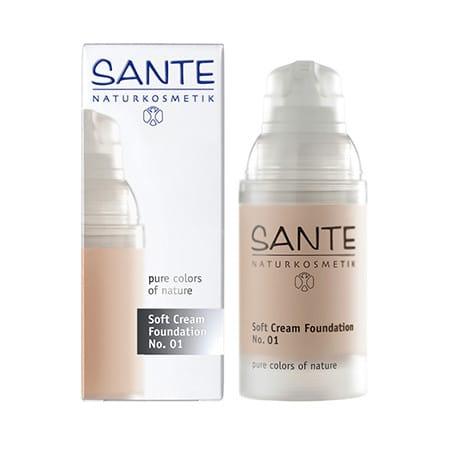 Sante Maquillaje 01 Soft Cream Porcellan
