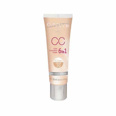 Sante Maquillaje CC Fluido 20 Natural