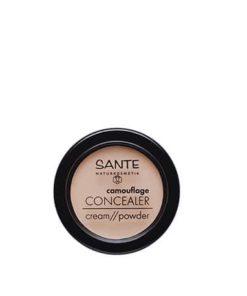 Sante Corrector Polvo-Crema 02 Sand