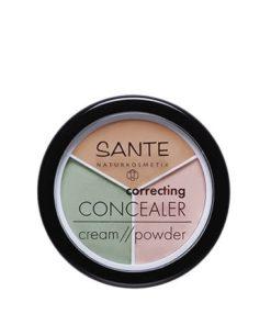 Sante Corrector Polvo-Crema 3 Tonos
