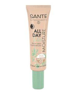 Sante Maquillaje Fluido Hidratante 24H 03 Sunny Beige