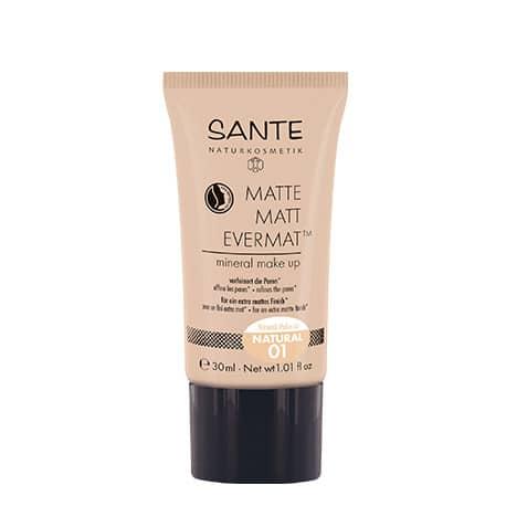 Sante Maquillaje Fluido Mate Evermat 01 Natural