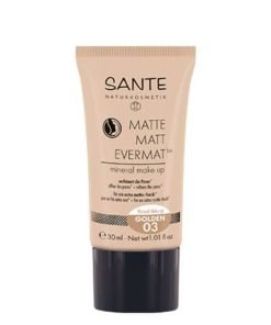 Sante Maquillaje Fluido Mate Evermat 03 Golden 30ml