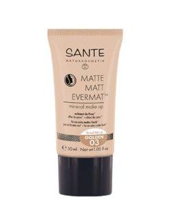 Sante Matte Fluid Makeup Evermat 03 Golden 30ml