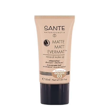 Sante Maquillaje Fluido Mate Evermat 03 Golden 30ml