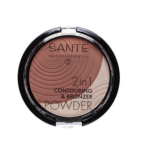Sante Maquillaje Polvo Bronceador 2 en 1 Duo 01 Light Medium