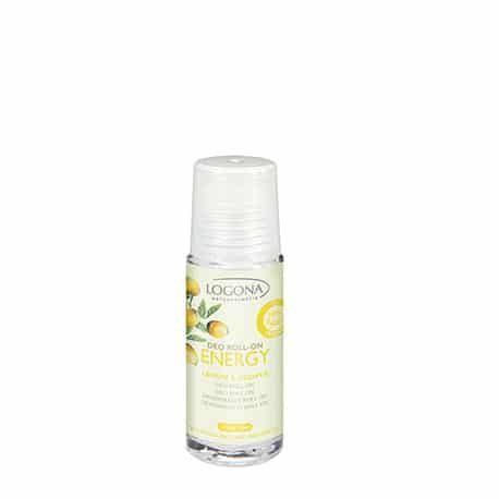 Logona Desodorante Roll-On Limón y Jengibre. 50ml