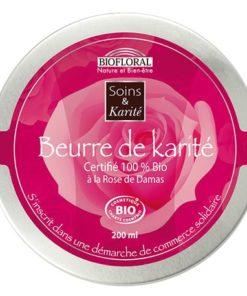 Biofloral Manteca karité & Rosa damascena