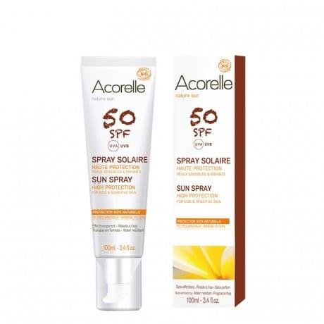 Acorelle Spray solar SPF50