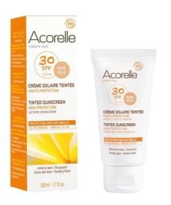 Acorelle Crema facial color dore SPF30 50ml