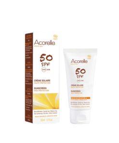 Acorelle Crema solar facial SPF50