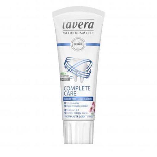 Lavera Dentífrico sin flúor cuidado completo