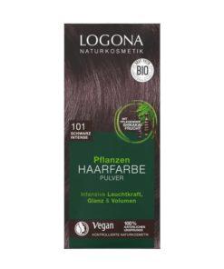 Logona Tinte Colorante Vegetal Color Negro Intenso 101
