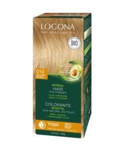 Logona Tinte Colorante Vegetal Color Rubio Dorado 010