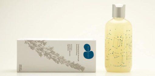 Gel de baño y ducha tonificante, Romero y Miel, Natural y Orgánico 250ml