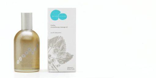 Fragancies del Montseny Vitality - Aceite de masaje aromaterapéutico
