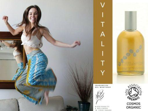 Vitality - Aceite de masaje aromaterapéutico, Ecológico 100% Orgánico 100ml