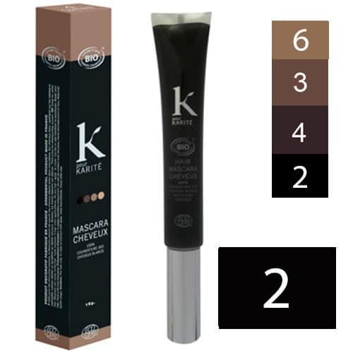K Pour Karité Tinte Máscara Capilar nº2 Negro