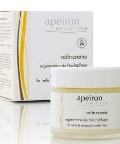 Apeiron Crema de noche nutritiva regeneradora