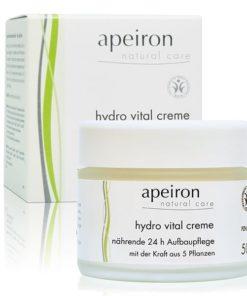 Apeiron Crema hidratante vital 24 horas