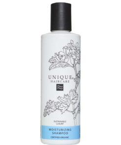 Unique Champú Hidratante Certificado Orgánico Para cabello Seco y Dañado 250ml