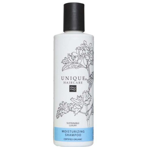 Unique Champú Hidratante Certificado Orgánico Para cabello seco & dañado