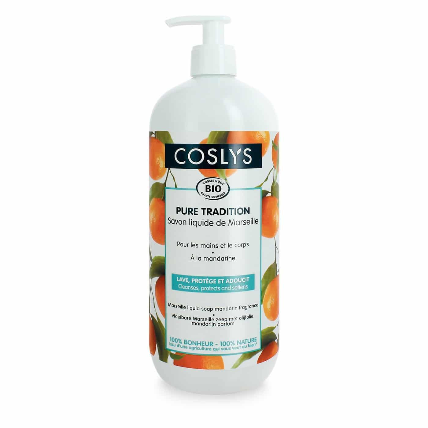Osta Coslys Mandarin Aroma Marseille Saippua 300ml Iunatural