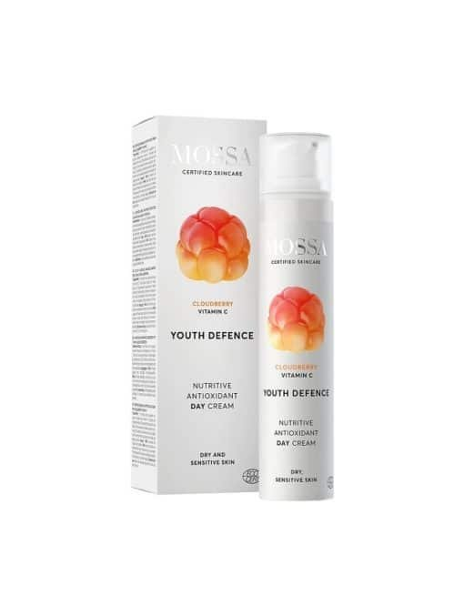 Mossa Crema Facial de Dia Nutritiva Antioxidante Youth Defence
