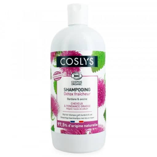 coslys shampooing-cheveux-gras-bardane