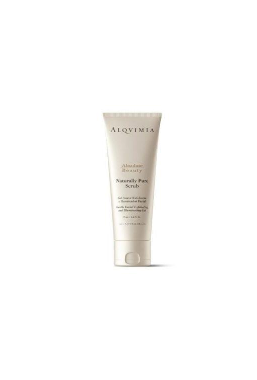Alqvimia Gel Exfoliante Facial Naturally Pure Scrub