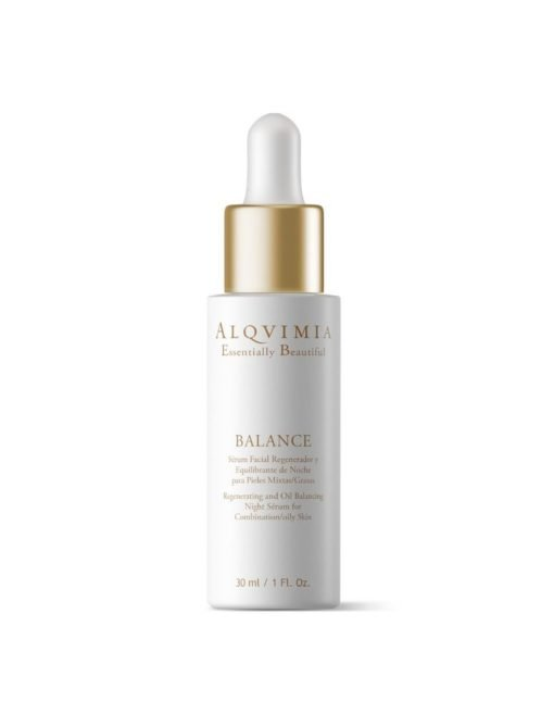 Alqvimia Sérum Facial Regenerador y Equilibrante de Noche para Pieles Mixtas/Grasas