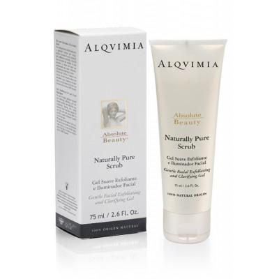 Alquimia Gel Exfoliante Facial Naturally Pure Scrub