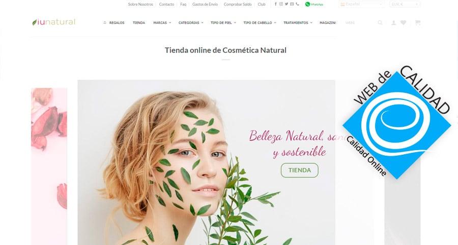 Web de Calidad iunatural