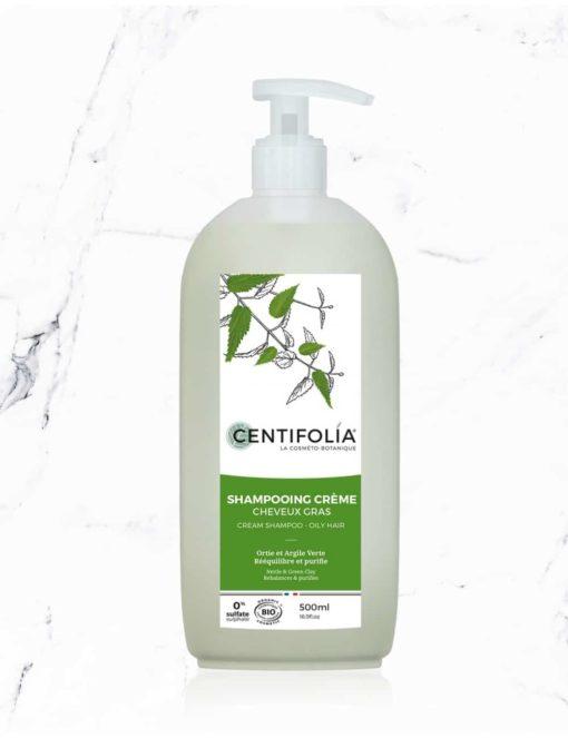Centifolia Champú cabello Graso 500ml - iunatural