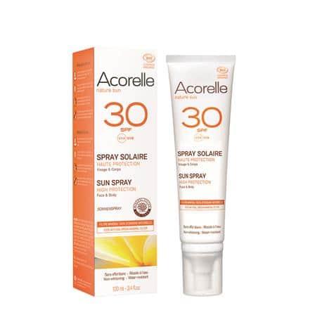 Acorelle Spray solar SPF30 100ml - iunatural