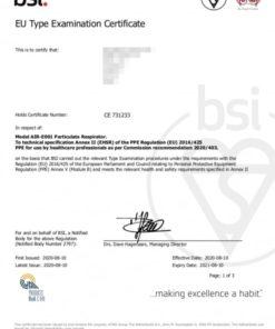 Mascarilla FFP2-negra-certificado