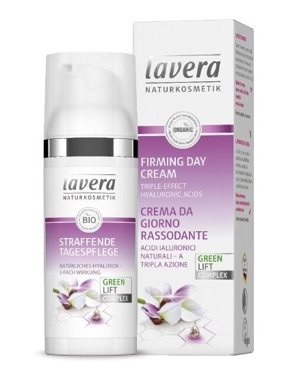 Lavera Crema Facial de Día Reafirmante con Acido Hialurónico de Triple Acción