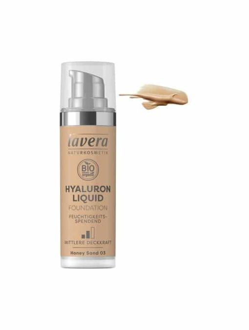 Lavera Maquillaje Fluido Hyaluron 03 Honey Sand