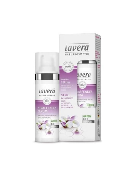 Lavera Serum Facial Reafirmante con Acido Hialuronico Triple Accion