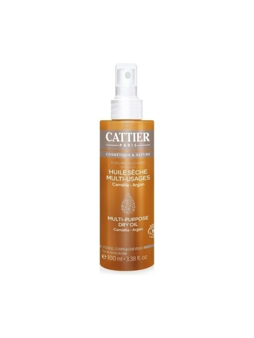 Cattier Aceite Seco Multiusos para Cuerpo, Cara y Cabello Sublime Alchimie